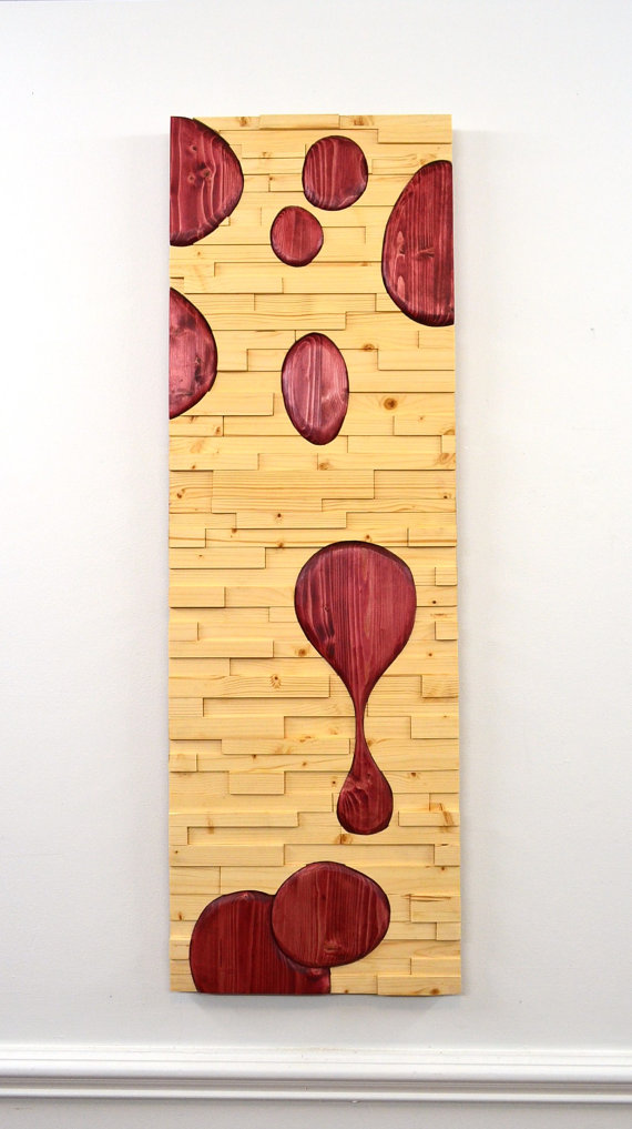 Lava Wall Art - Stains and Grains