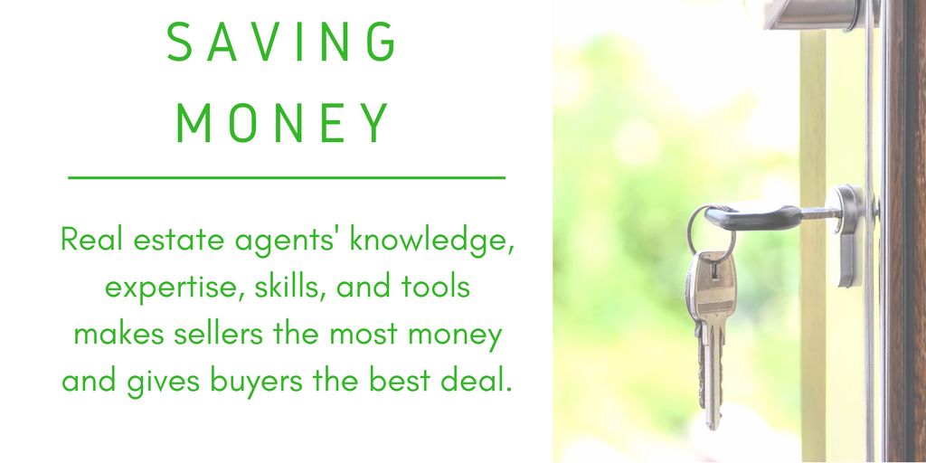 Saving Money - Real Estate Agents