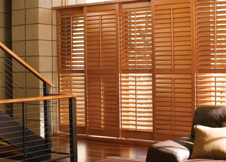 2018 home trend to watch wood treatments the cameron team for Budget blinds motorized shades