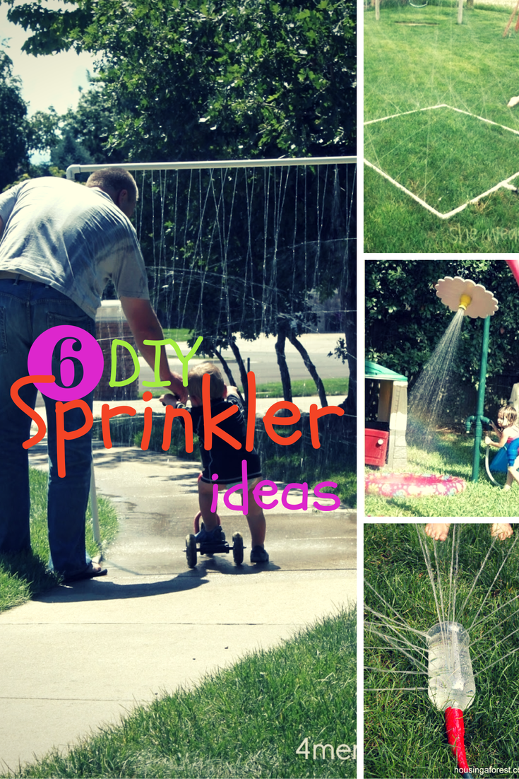 DIY Sprinkler Ideas