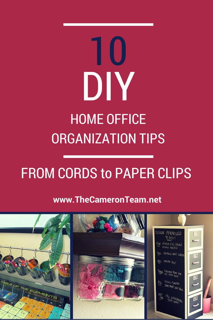 10 DIY Home Organization Tips