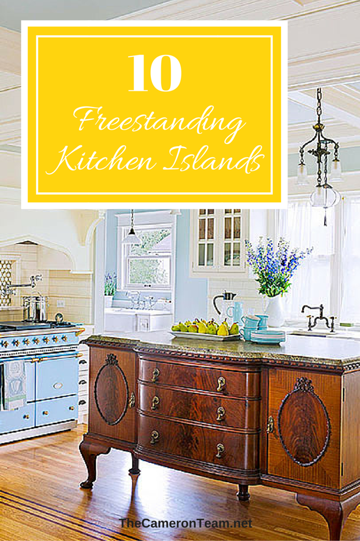 10 Freestanding Kitchen Islands