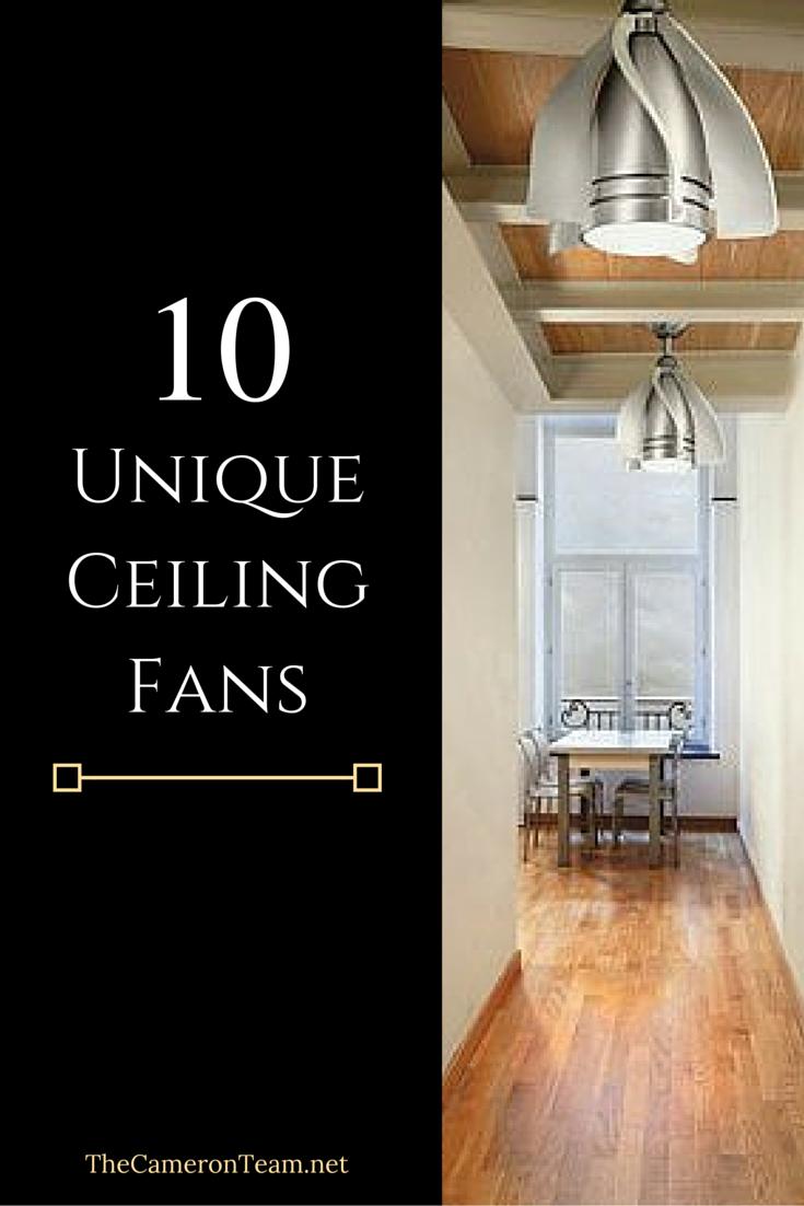10 Unique Ceiling Fans