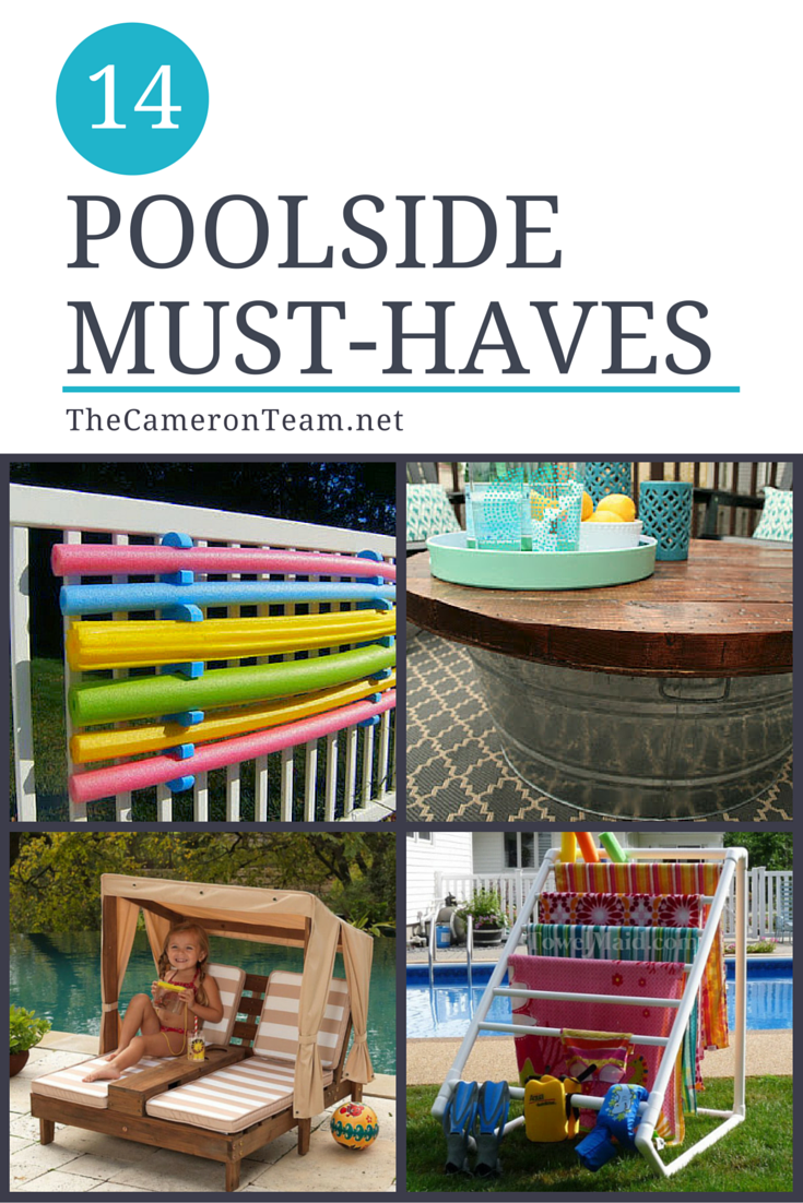 14 Poolside Must-Haves