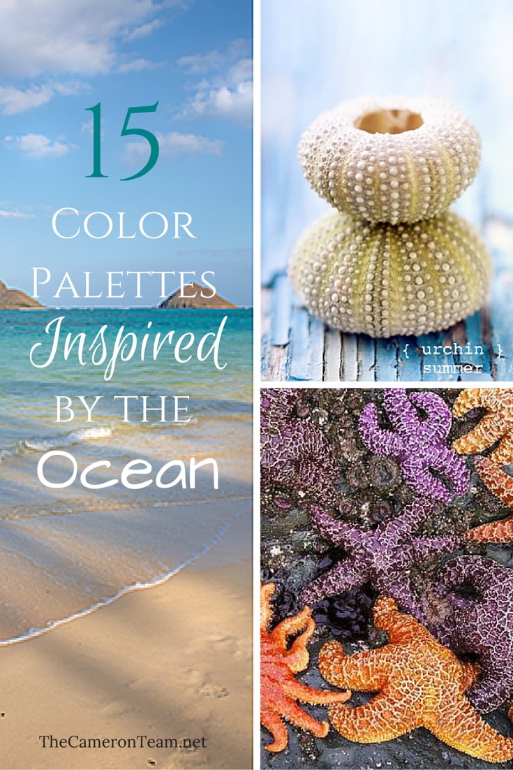 15 Color Palettes Inspired by the Ocean