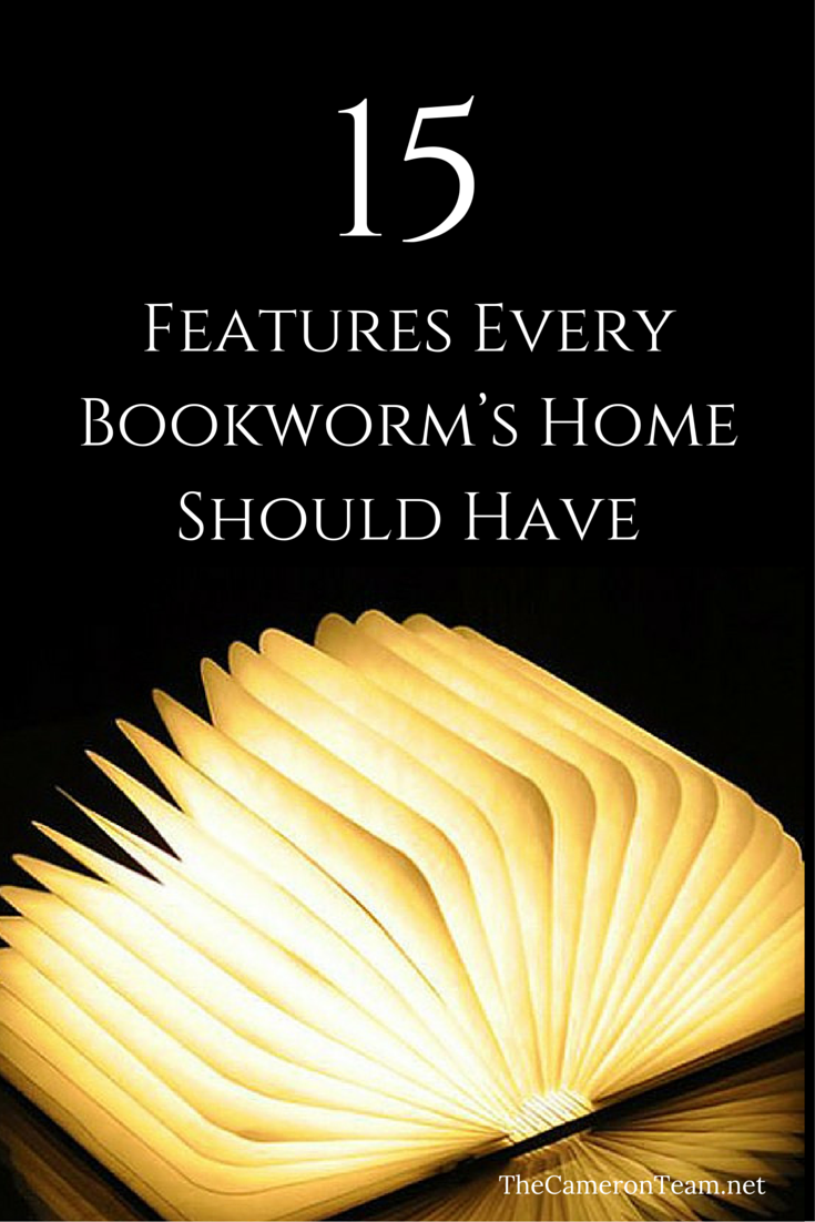 15 Features Every Bookworm's Home Should Have