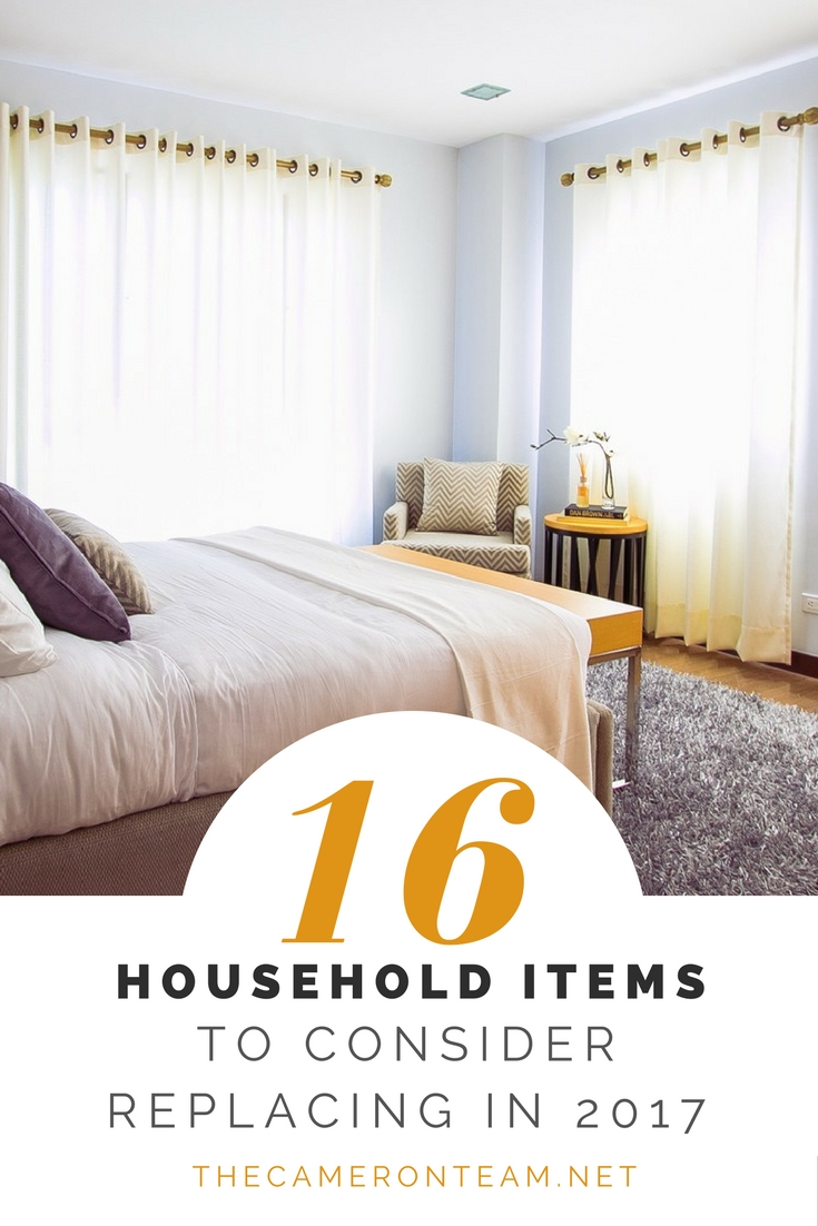 16 Household Items to Consider Replacing in 2017