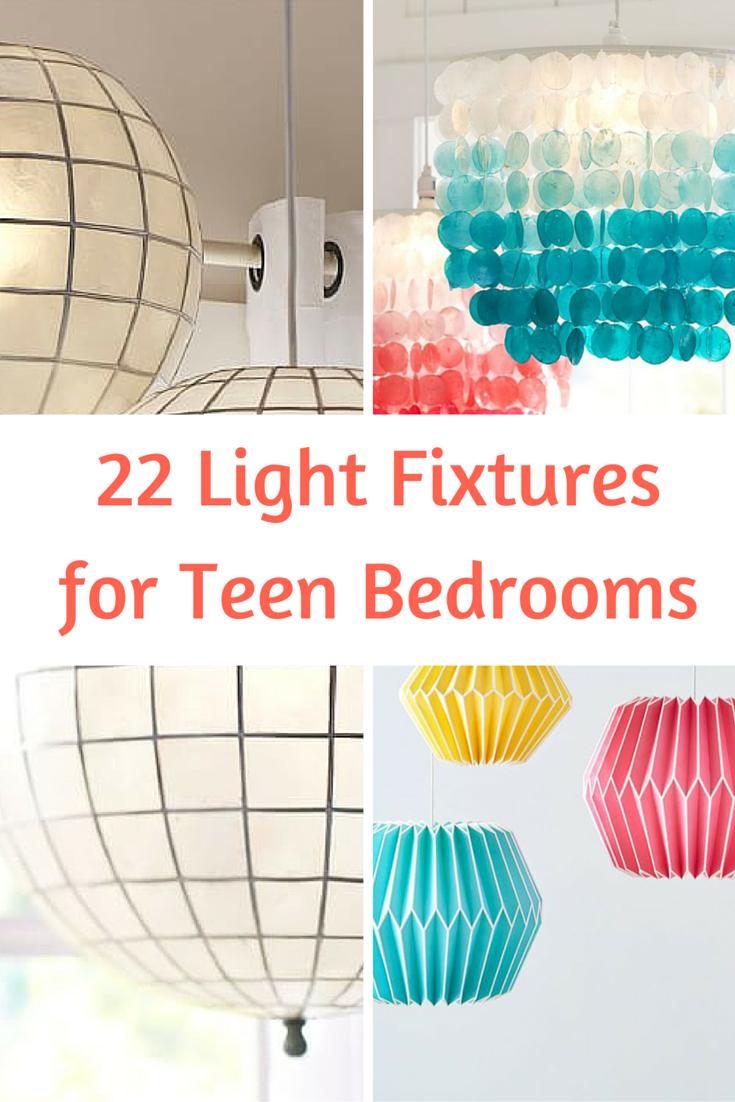 22 Light Fixtures for Teen Bedrooms