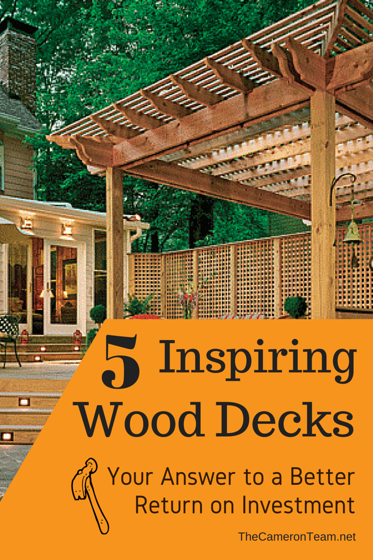 5 Inspiring Wood Decks