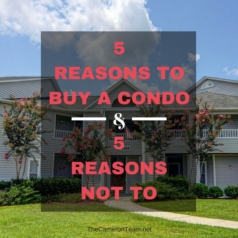 5 Reasons to Buy a Condo