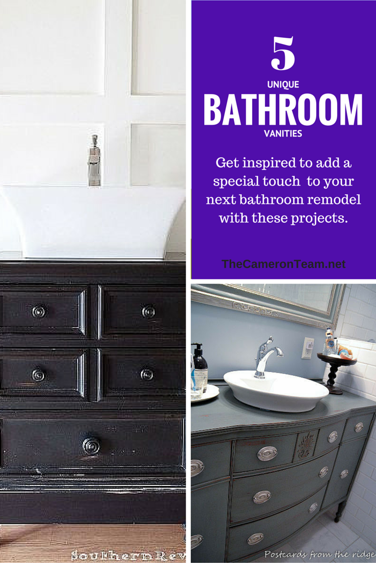 5 Unique Bathroom Vanities
