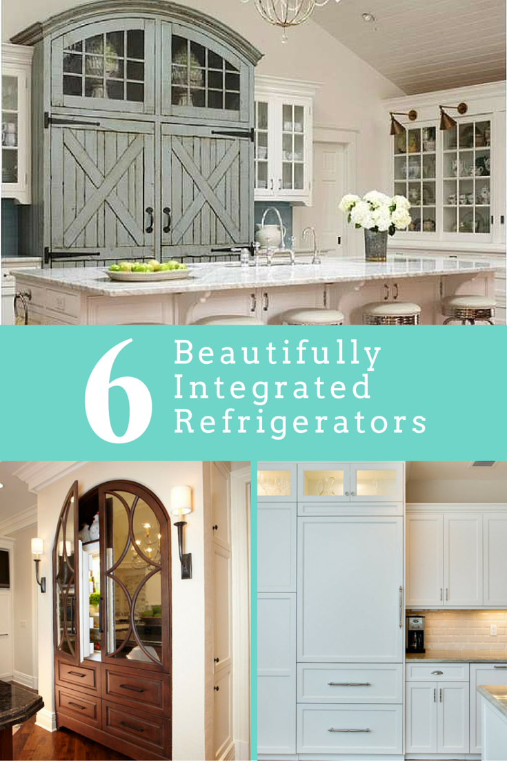6 Beautifully Integrated Refrigerators