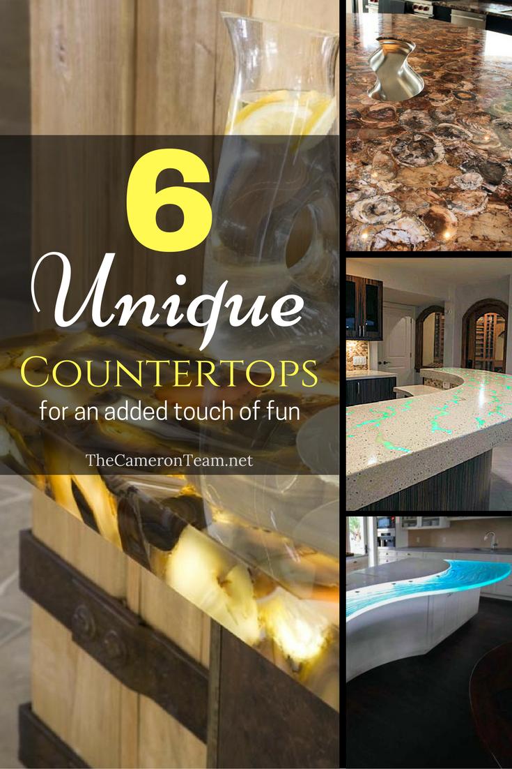 6 Unique Countertops