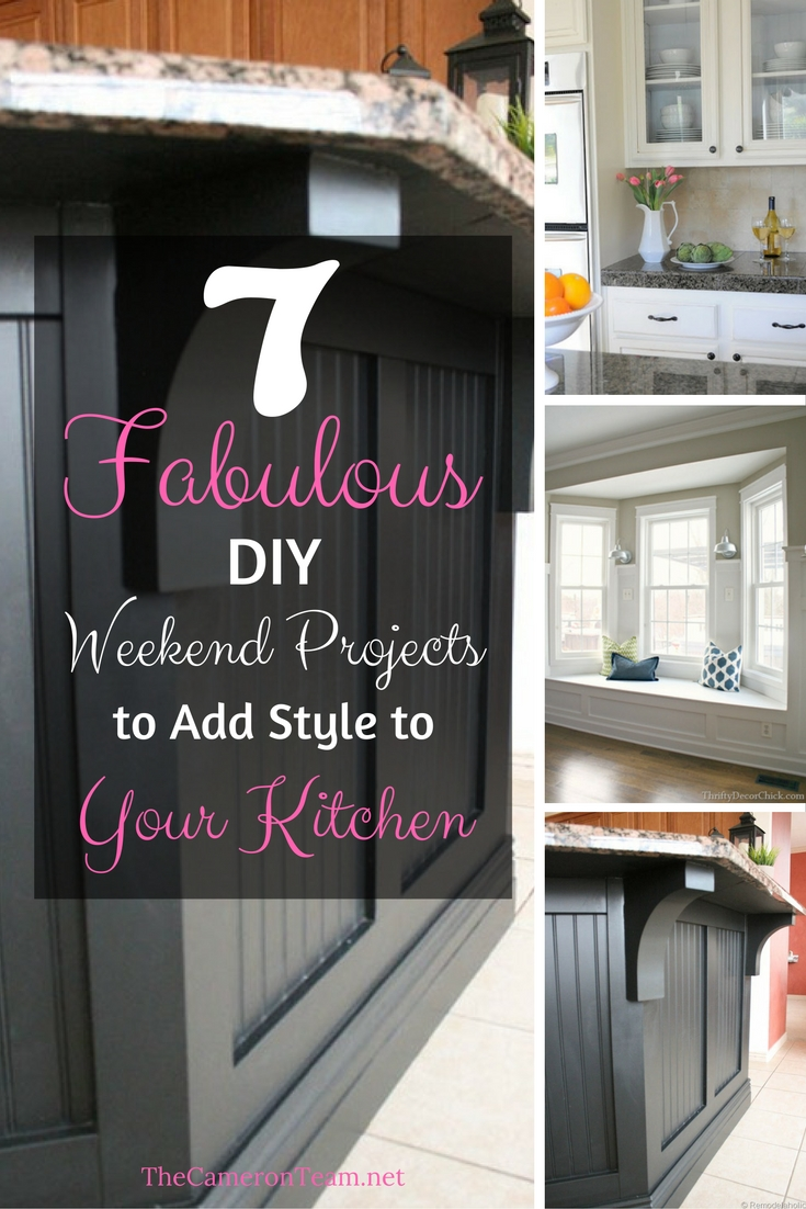 7 Fabulous DIY Weekend Projects to Add Style to Your Kitchen