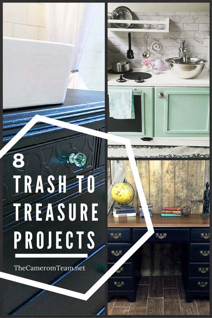 8 Trash to Treasure Projects