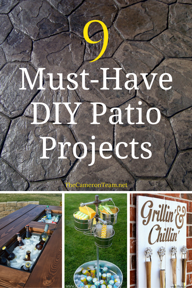 9 Must-Have DIY Patio Projects
