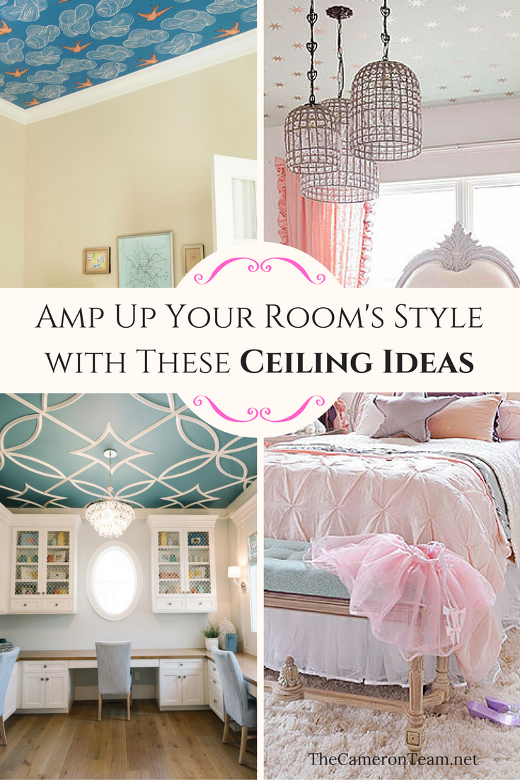 Amp Up Your Room's Style with These Ceiling Ideas