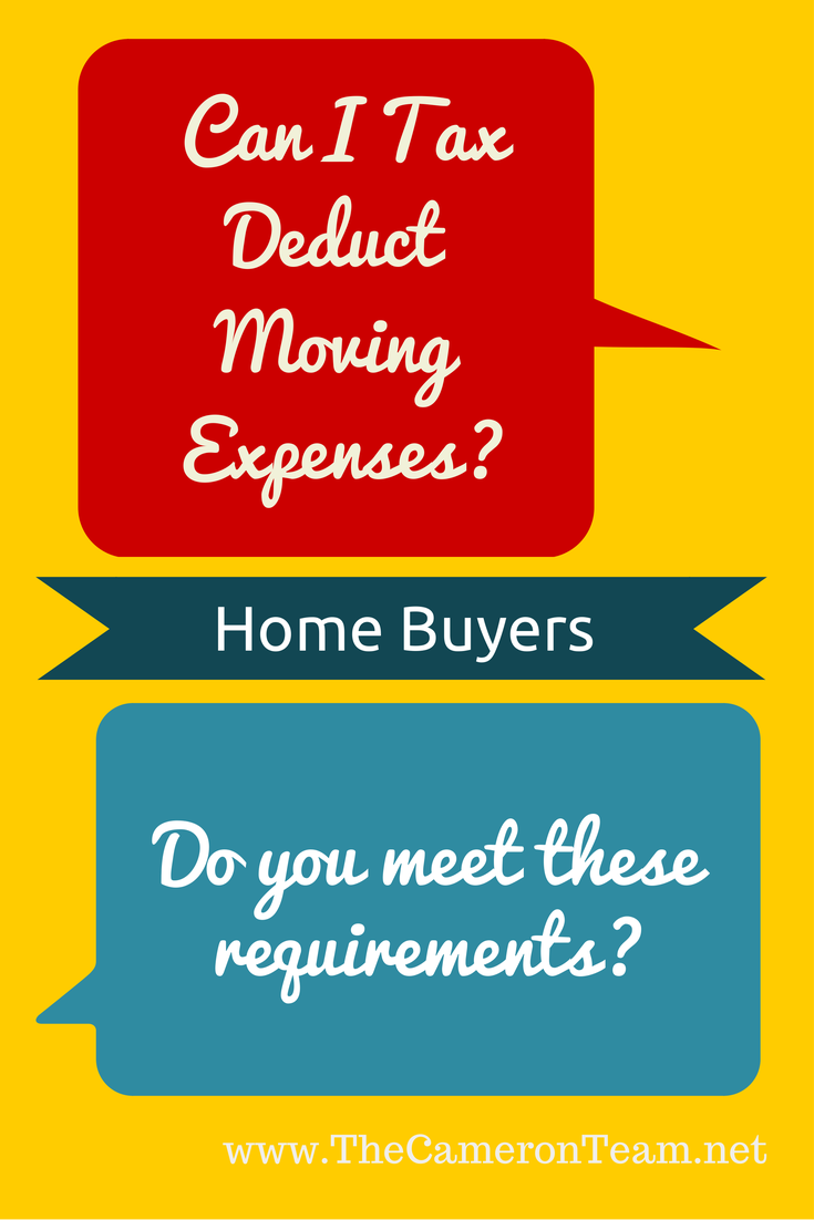 Can I Tax Deduct Moving Expenses
