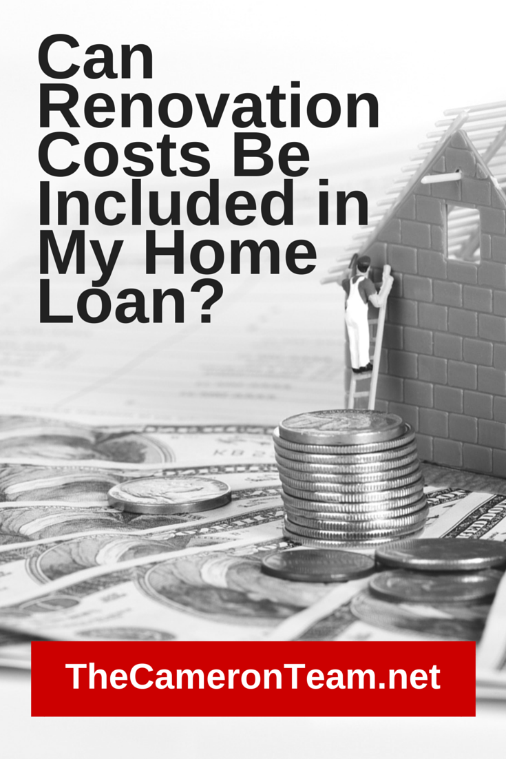 Can Renovation Costs Be Included in My Home Loan