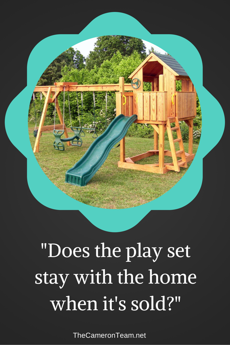 Does the Play Set Stay with the Home