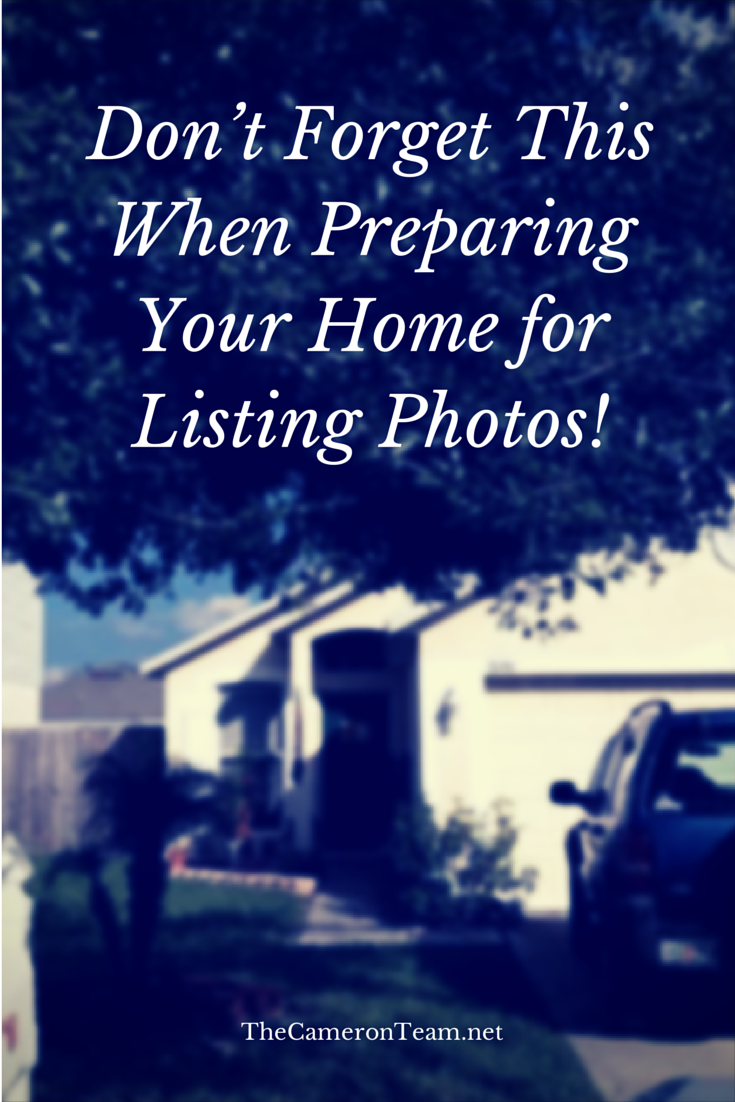 Don't Forget This When Preparing Your Home for Listing Photos