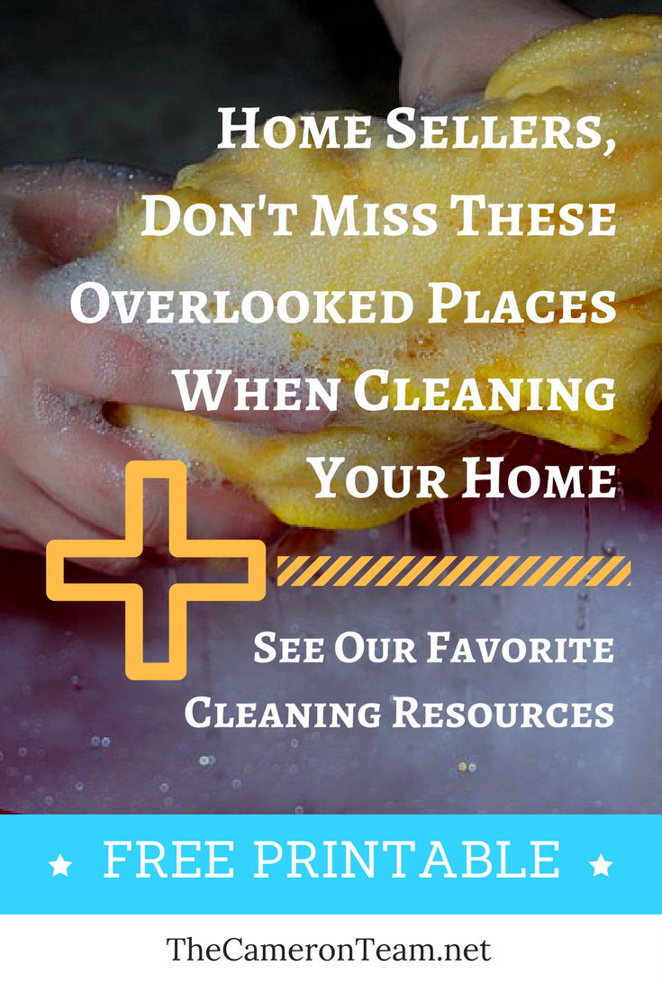 Don't Miss These Overlooked Places When Cleaning Your Home