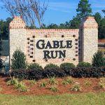 Gable Run Entrance Sign