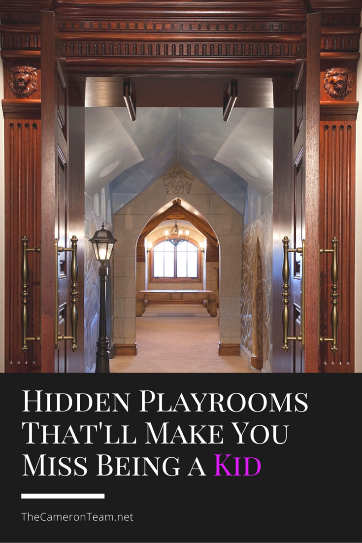 Hidden Playrooms That'll Make You Miss Being a Kid