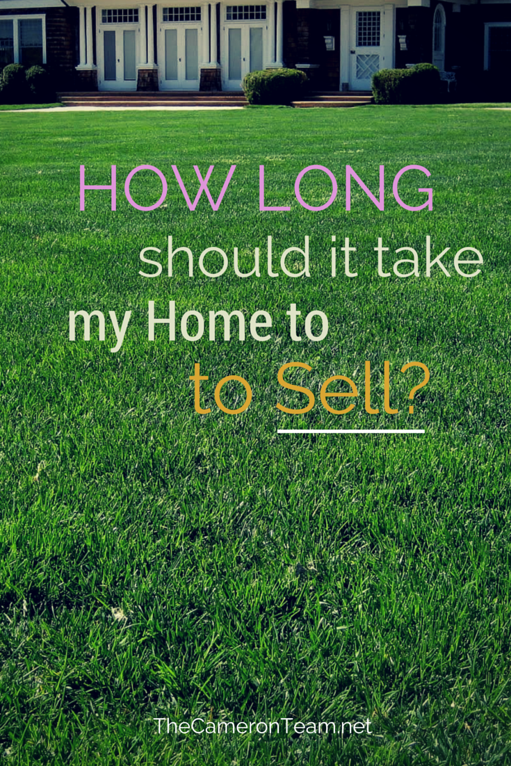 How Long Should It Take My Home to Sell?