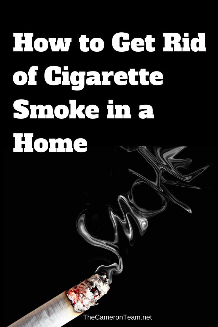 How to Get Rid of Cigarette Smoke in a Home