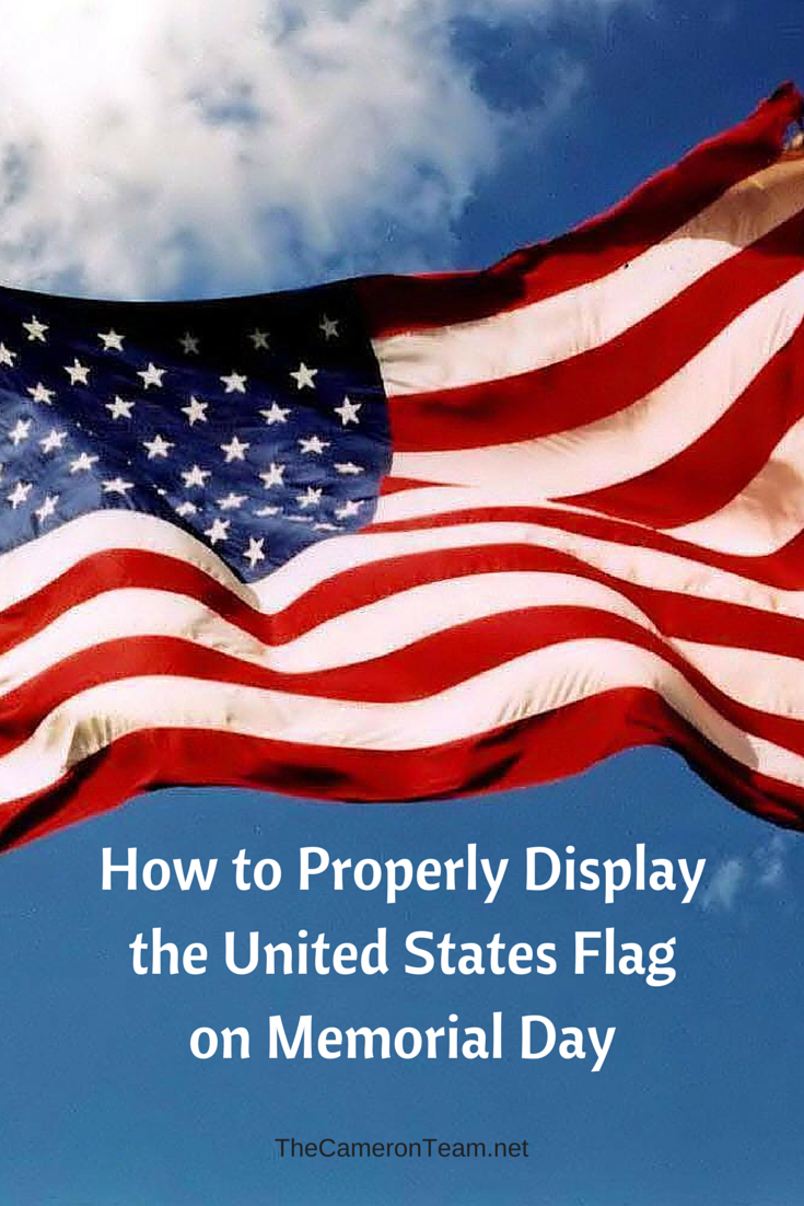 How to Properly Display the United States Flag