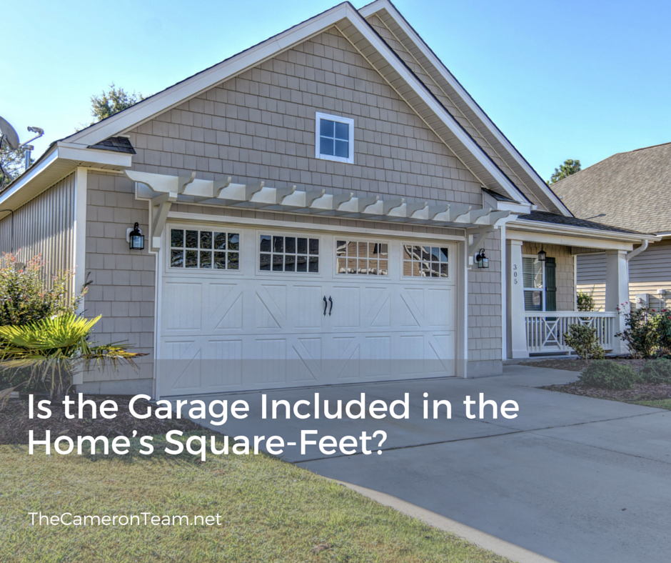 Is the Garage Included in the Homes Square-Feet