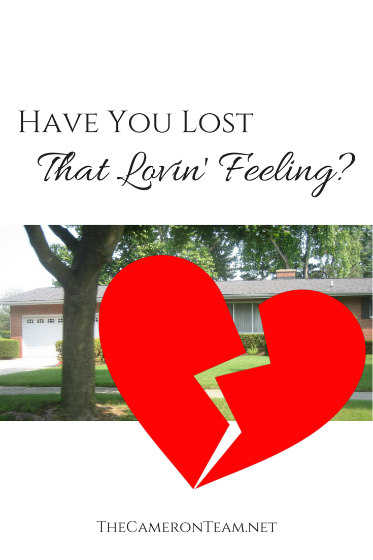 Have You Lost That Lovin' Feeling?