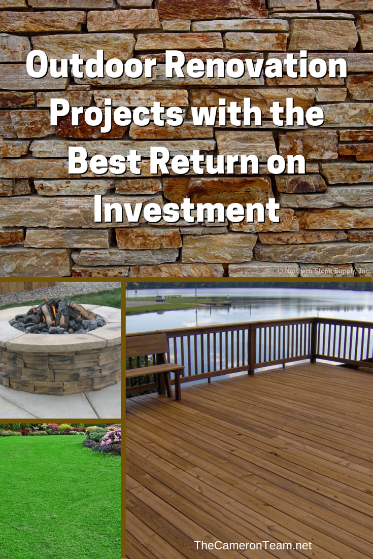 Outdoor Renovation Projects with the Best Return on Investment