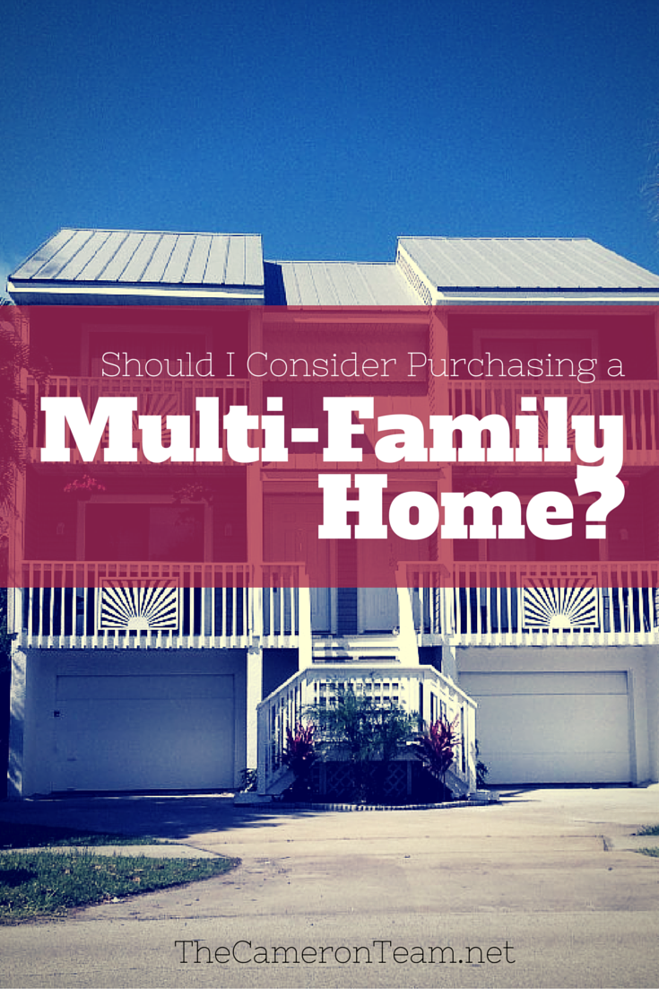 Should I Consider Purchasing a Multi-Family Home