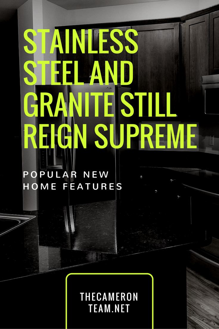 Stainless Steel and Granite Still Reign Supreme