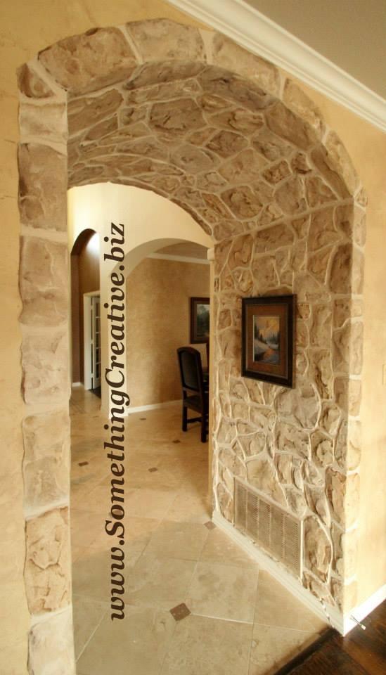 Stone Doorway by Something Creative
