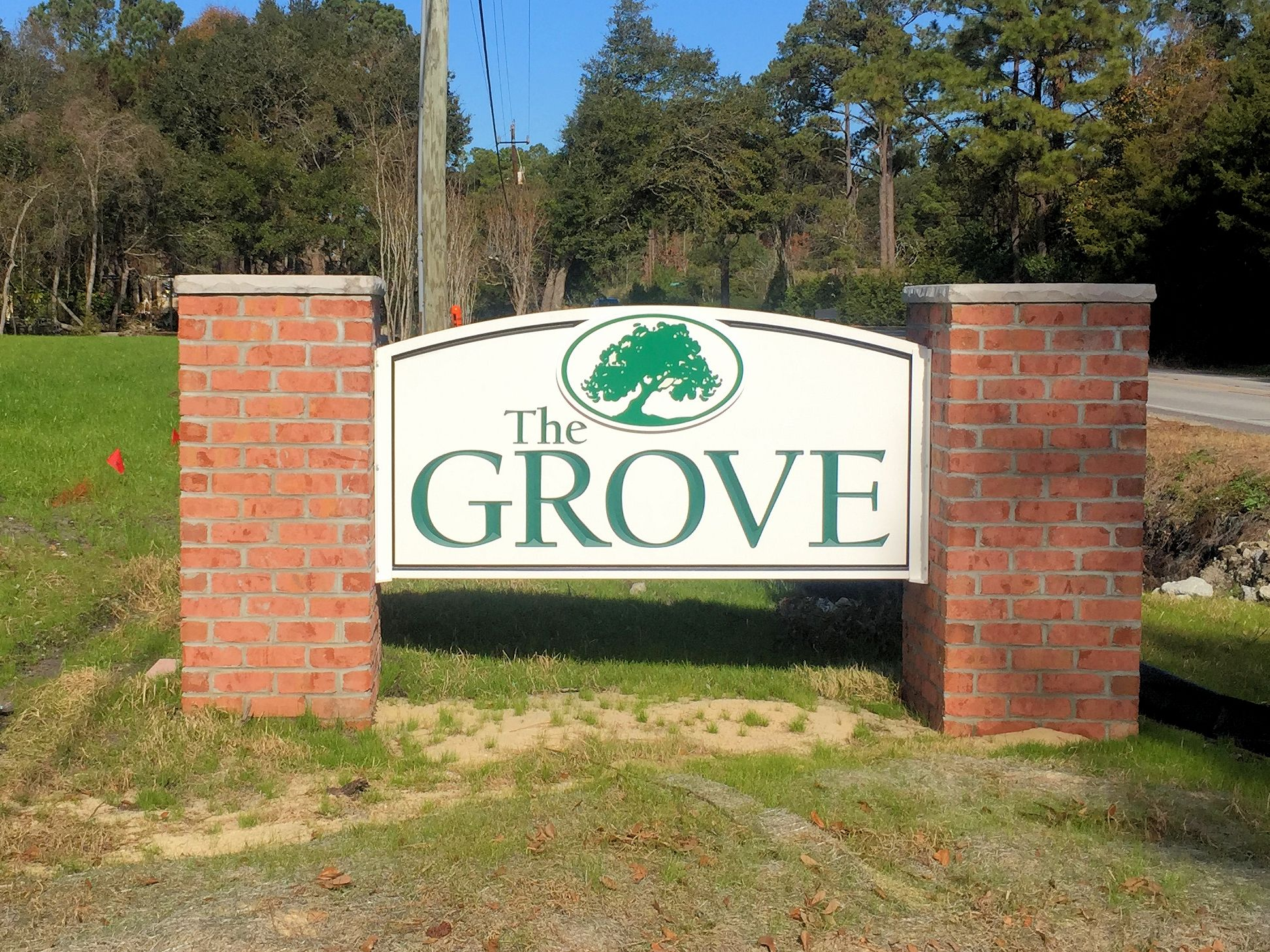 The Grove Entrance Sign
