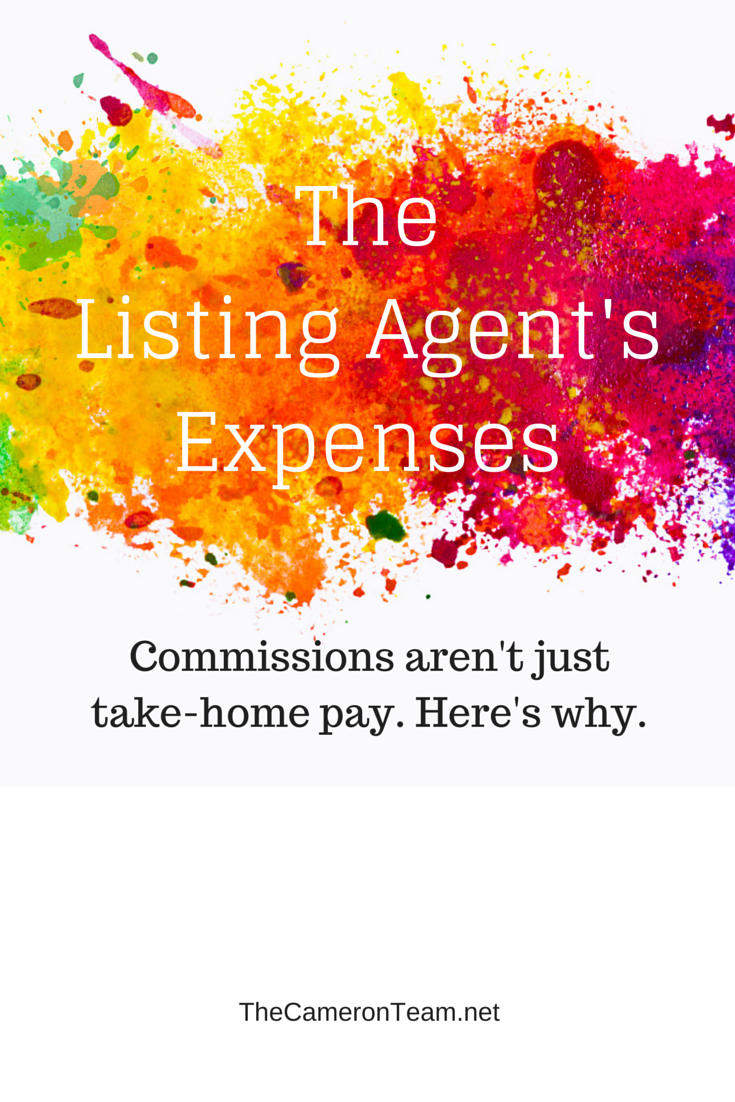 The Listing Agent's Expenses