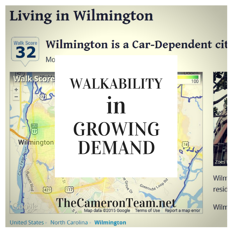 Walkability in Growing Demand