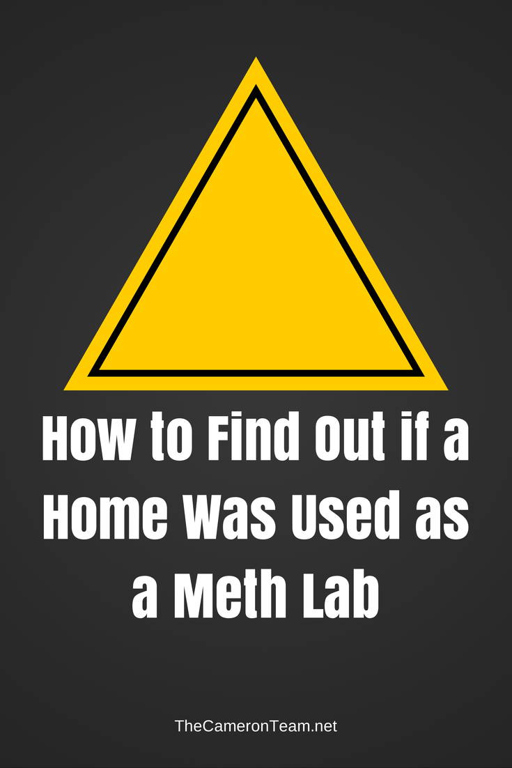 Was My Home a Meth Lab?