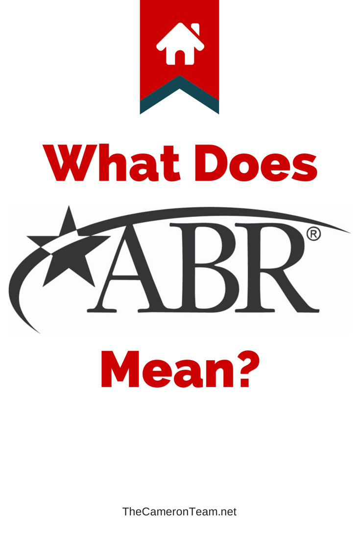 What Does ABR Designation Mean