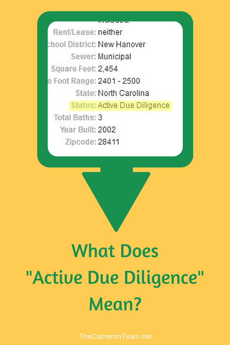 What Does Active Due Diligence Mean