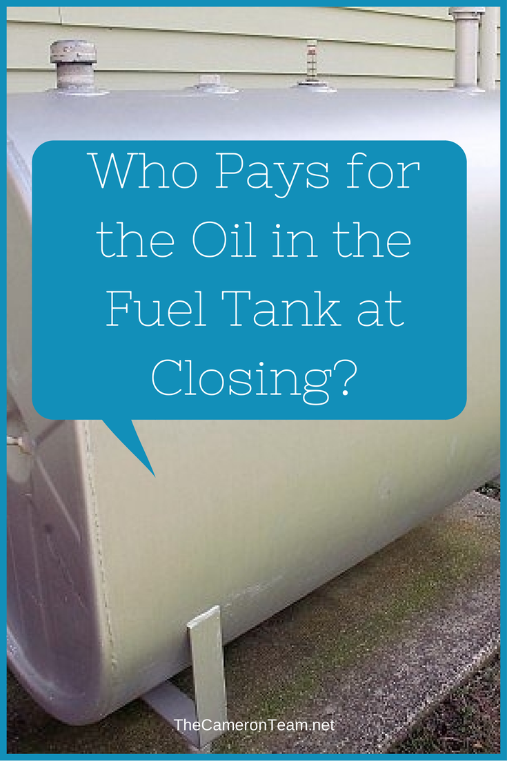 Who Pays for the Oil in the Fuel Tank
