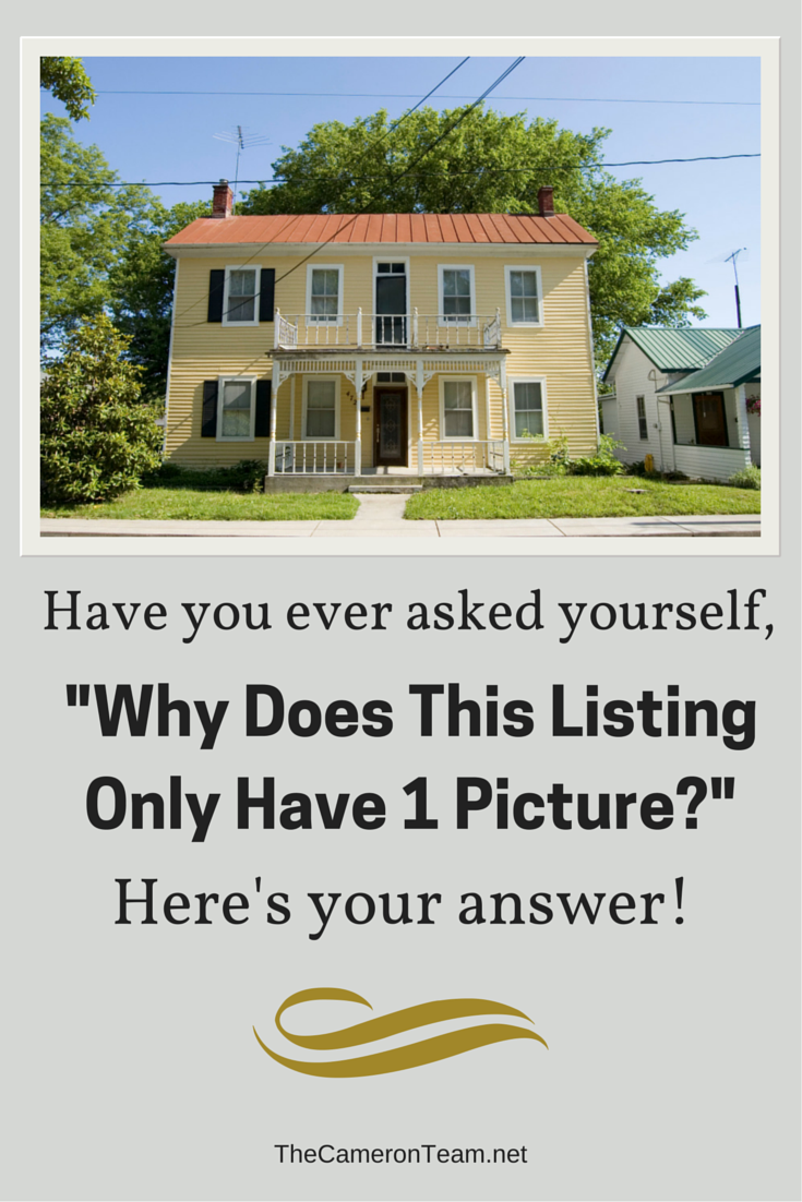 Why A Listing Only Has 1 Picture