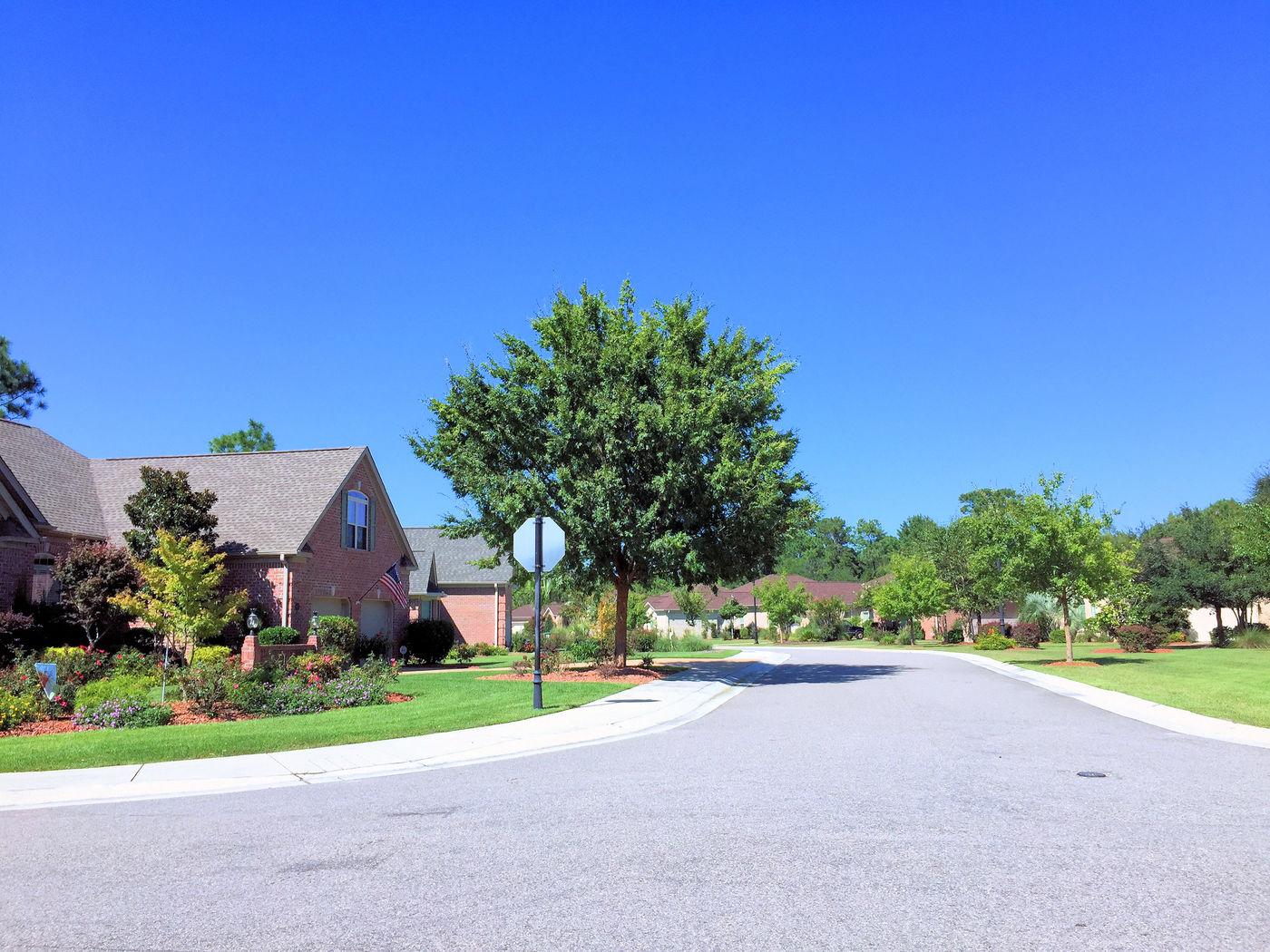 The Village at Motts Landing Streetscape 2