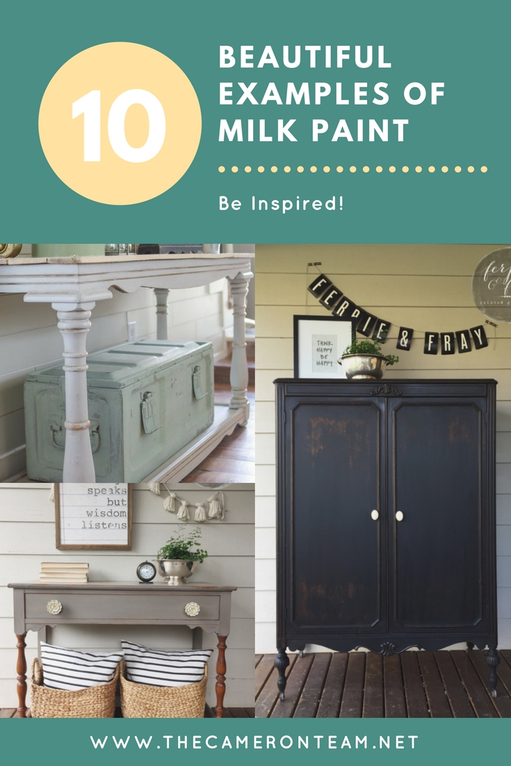 10 Beautiful Examples of Milk Paint