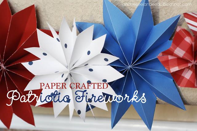 Landee See, Landee Do - Paper Fireworks
