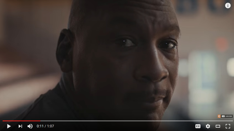 Michael Jordan - Laney Gymnasium Commercial