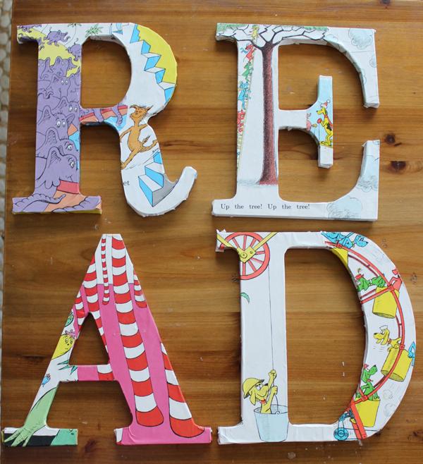 Dr Seuss READ Typography - Money Saving Sisters